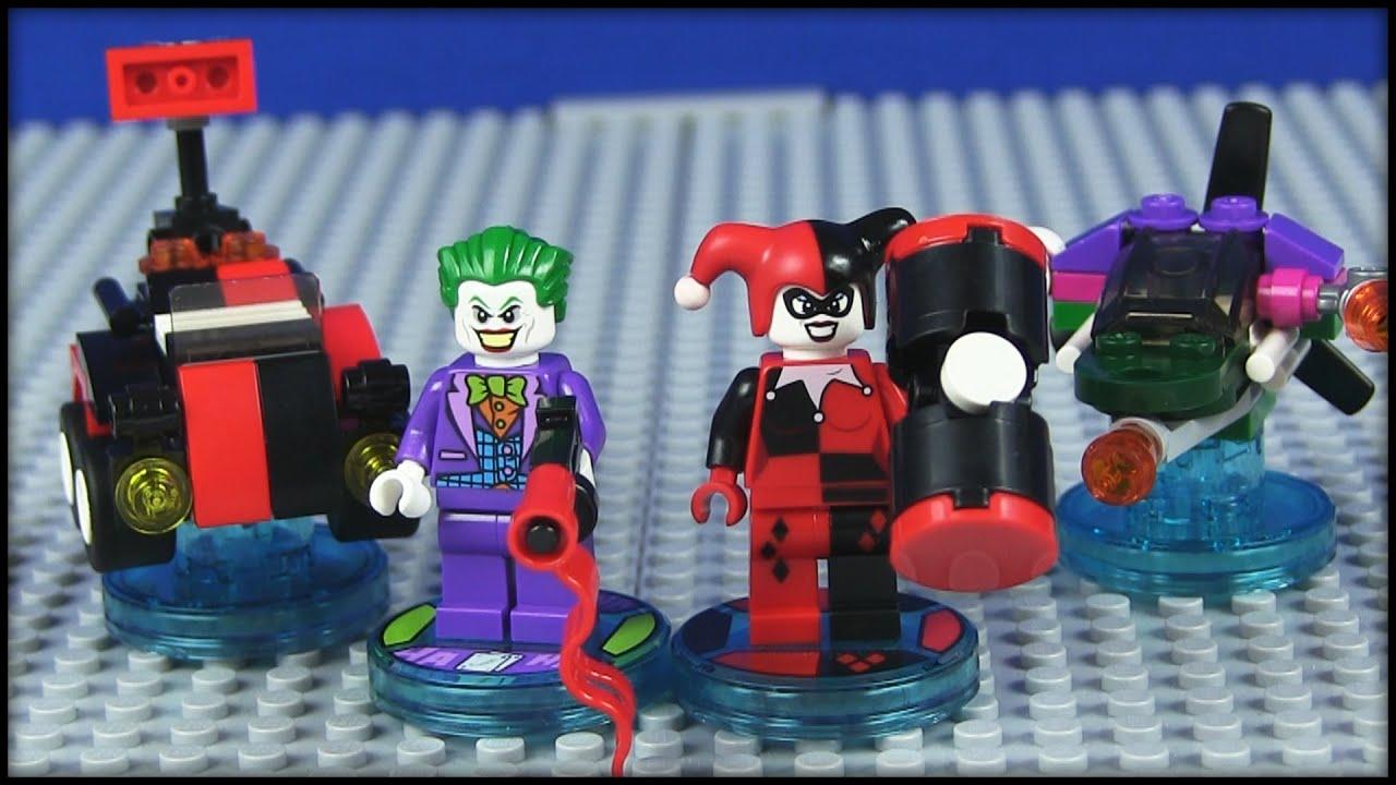 lego dimensions the joker harley quinn team pack. Black Bedroom Furniture Sets. Home Design Ideas