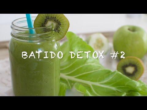 Batidos detox #2 | Batido de kiwi para adelgazar | Batido de kiwi | Batidos con kiwi | Zumos verdes