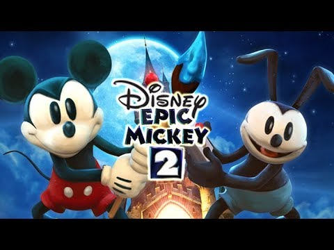 Disney Epic Mickey 2: The Power Of Two FULL GAME Longplay (PS3, X360, Wii U)