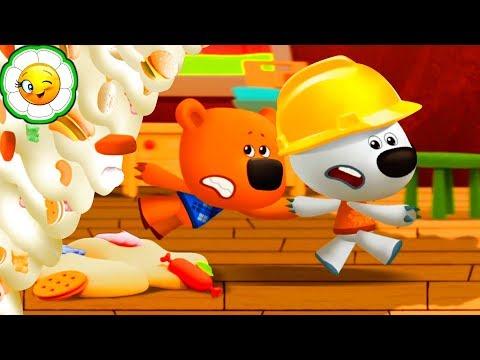 Детский уголок/Kids'Corner #8  Несовременная еда! Суп от Тучки против падающего суперблюда Кеши!