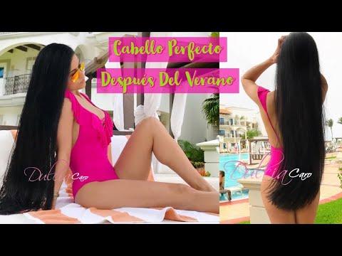 Repara El Cabello Dañado Por El Verano, Sol, Y La Playa