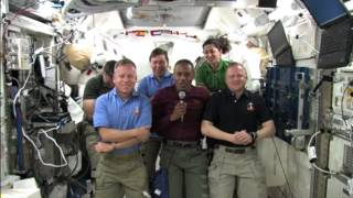 STS-133 Discovery - Flight Day 8 -   Daily Mission Recap