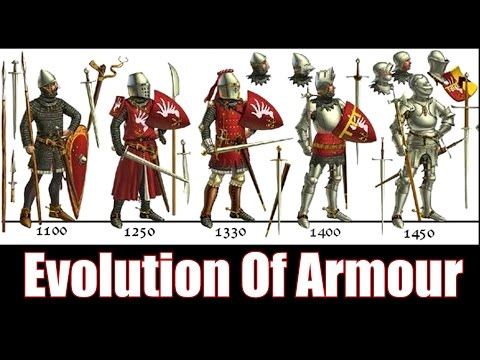 The Evolution Of Knight Armour - 1066 - 1485