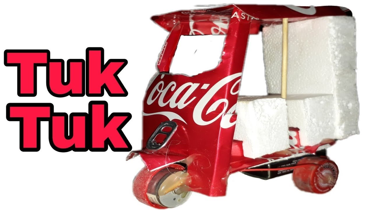 Download How To Make An Electric Rickshaw (Tuk Tuk ) Out Of Pepsi Cans