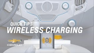 Quick Tips: How Does In-Car Wireless Phone Charging Work? | Chevrolet