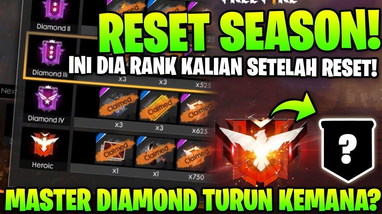 Reset Season Turun Ke Rank Mana Kalian Ini Jawabannya Garena Free Fire Youtube
