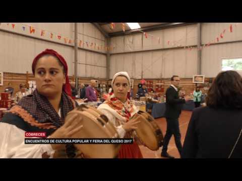 Gran Afluencia de Publico en la 19 Feria del Queso de Cobreces
