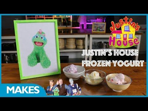 CBeebies | Justin's House | How to Make Frozen Yoghurt
