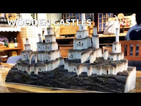 Live: Wooden Crafts / Ctoom Wooden Castles - CTOOM Creative