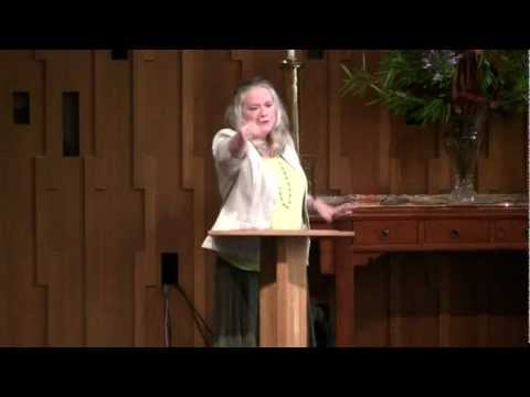 "Rev. Karen Lindvig Sermon ""Learning to Receive""—Seattle Unity Church—08-19-2012"