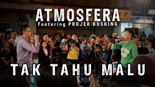 Atmosfera - Tak Tahu Malu- performance at Gaya Street, Kota Kinabalu