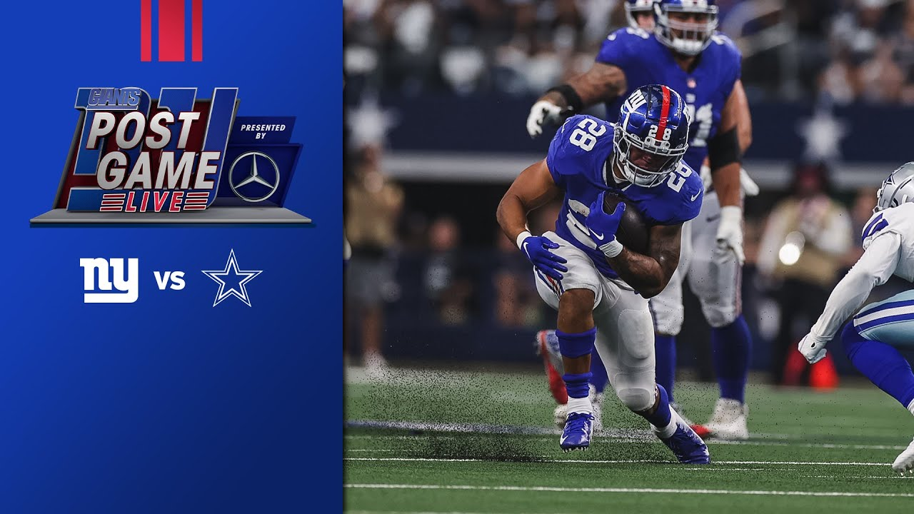 Giants vs. Cowboys, Week 5: Live updates