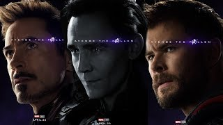 HUGE REVEALS IN NEW OFFICIAL AVENGERS ENDGAME quotAVENGE THE FALLENquot POSTERS FROM MARVEL