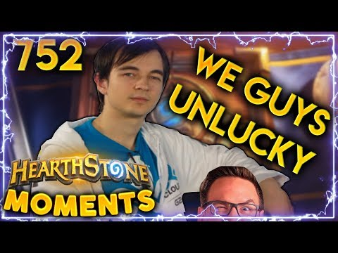World Famous Superstar Gets 100% Unlucky!!   Hearthstone Daily Moments Ep. 752