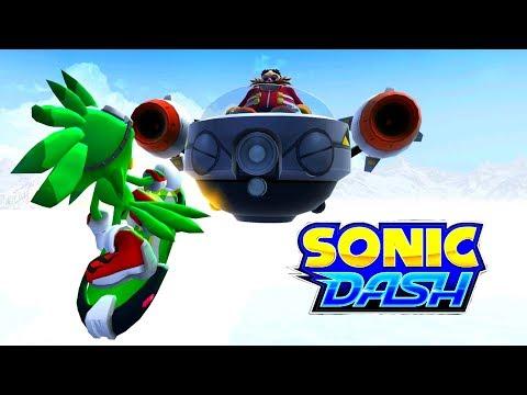 Sonic Dash -  JET THE HAWK gameplay (HD, Widescreen)