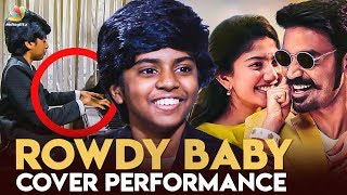 Rowdy Baby Cover : Chennai's Piano Prodigy Lydian Nadhaswaram | Live Performance | Interview