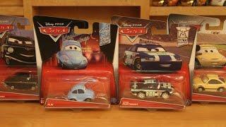 Mattel Disney Cars 2017 Case A Flik Kevin Shiftright (Clutch Aid) Tim Rimmer Tolga Trunkov