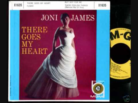 Joni James - There Goes My Heart (1958)
