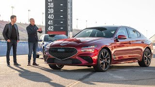 homepage tile video photo for TRACK TEST: Introducing the 2022 Genesis G70   MotorTrend