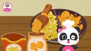 Trò Chơi Nông Trại Của Gấu Trúc Kiki #10 - Tự Làm Bim Bim Khoai Tây