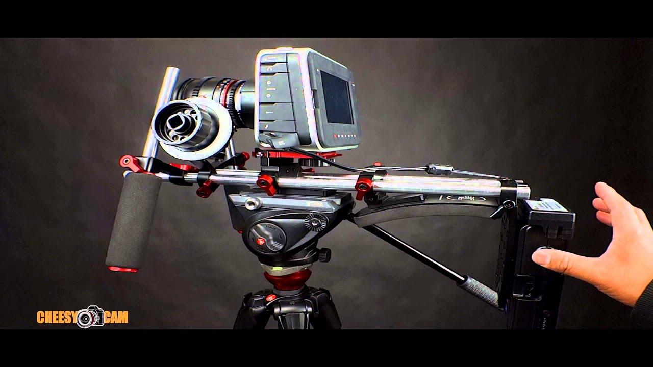 Switronix PowerBase For BlackMagic Design Production 4K Or Cinema Camera