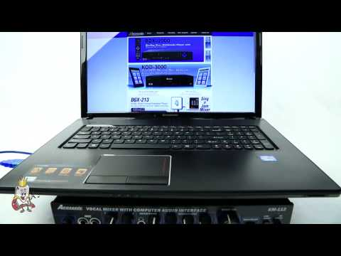 Acesonic KM-112 Setup (Mac & PC)