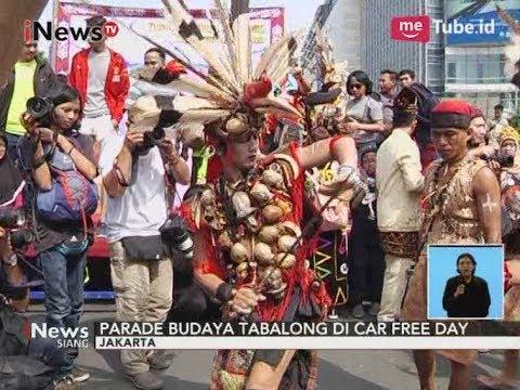 Parade Budaya Tabalong di Car Free Day Jakarta - iNews Siang 29/10