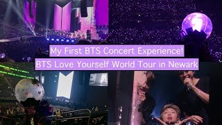 180928 BTS Love Yourself World Tour in Newark Day 1   Fancam