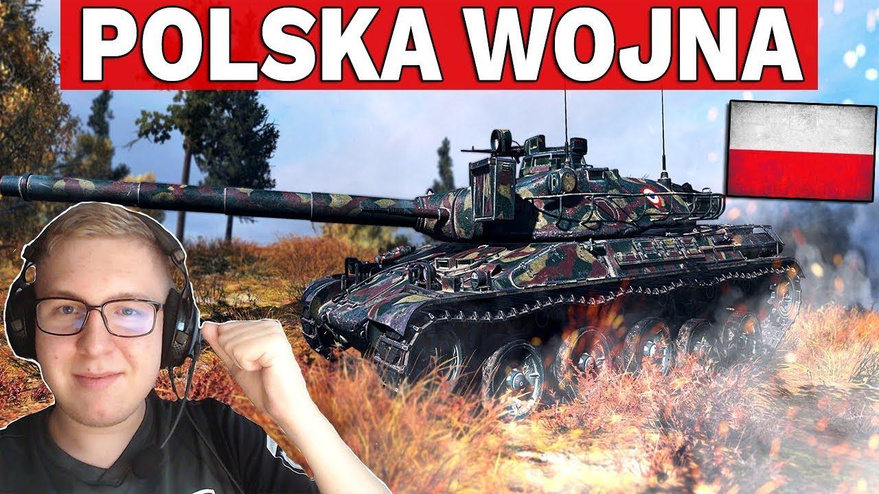 POLSKA WOJNA – Rozbijanie kampy w 15 minut – World of Tanks