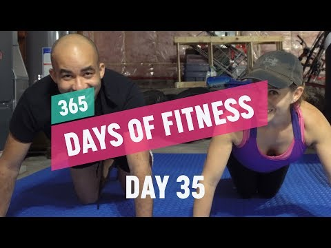 Baseline Calisthenics Test Before Our Body Weight Transformation