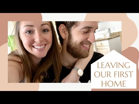MOVING DAY // saying goodbye to our first home