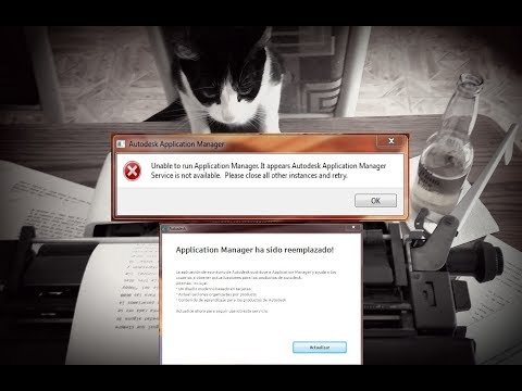Autodesk Application Manager Deshabilitar
