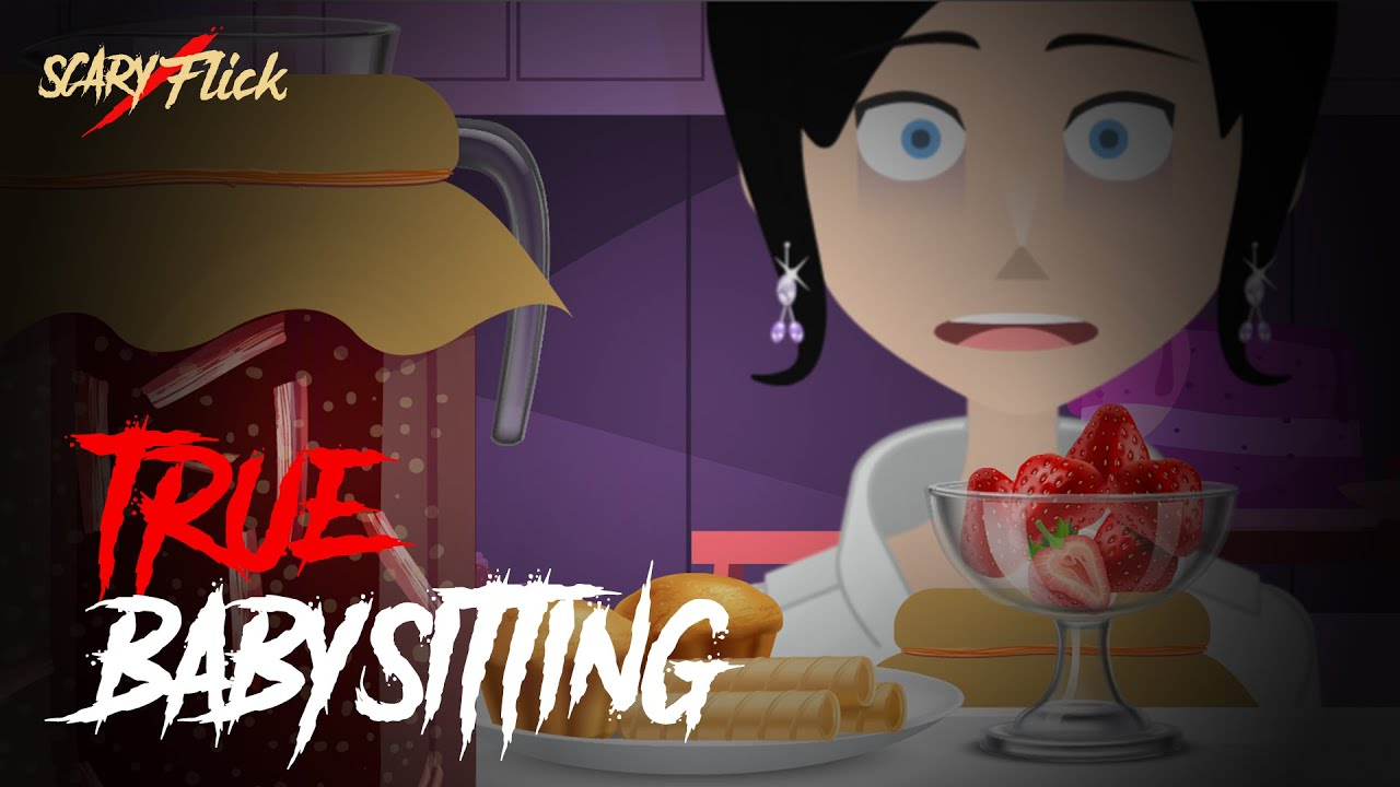 True Babysitting I Scary Animated Horror Story In Hindi I Scary Flick E60