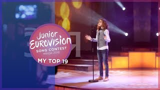 Junior Eurovision 2018 | My Top 19 [so far] 🇮🇪
