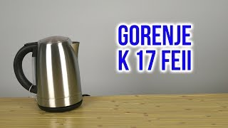 распаковка GORENJE K 17 FEII