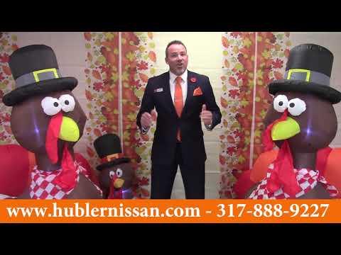 Hubler Nissan's Giving Thanks Sale!