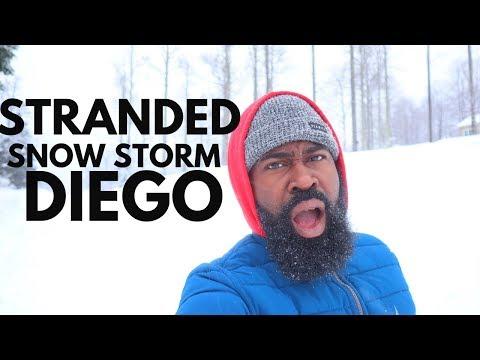 HISTORIC SNOW Storm DIEGO ASHEVILLE, North Carolina