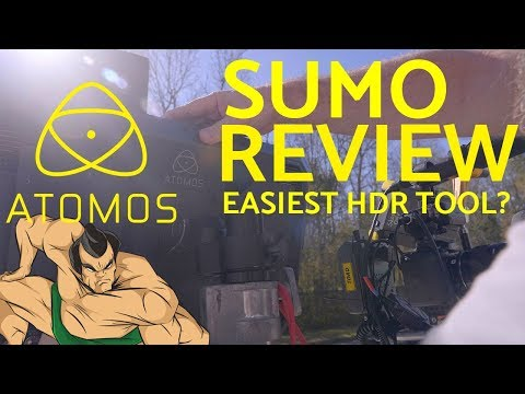 The Best Production Monitor? Atomos SUMO comprehensive review on set and post production - easy hdr