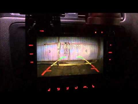Видео парктроники и камера заднего вида на VW Jetta 6