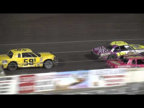 2015 Shiverfest Hobby Stock feature Lee County Speedway 10/24/15