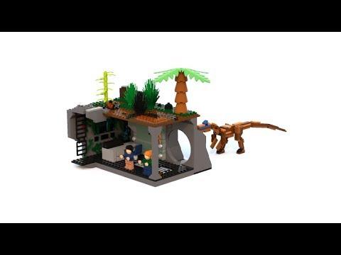 lego fallen kingdom baryonyx attack set moc youtube. Black Bedroom Furniture Sets. Home Design Ideas