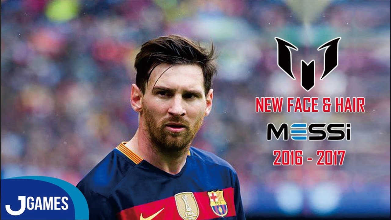 Pes 2013 New Face Hair Messi 2016 2017 Hd Youtube