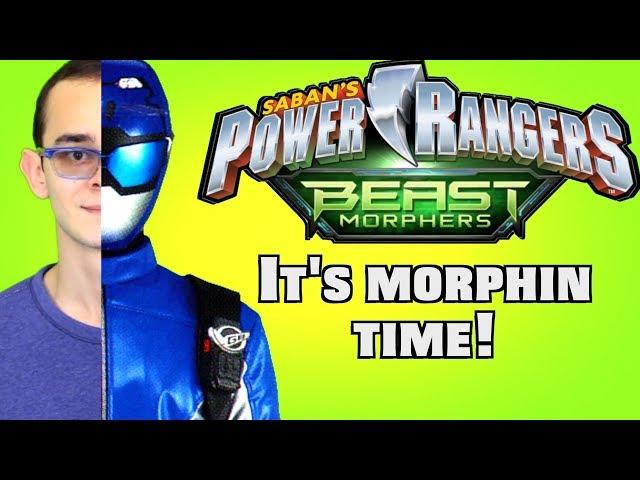 Power Rangers Beast Morphers Blue Ranger Fan-Morph (JulioCoolio)