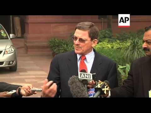 US special envoy Grossman arrives for talks