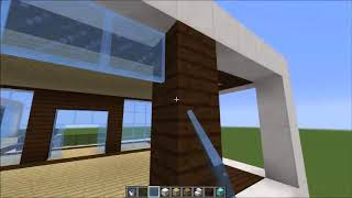 Minecraft Building A Villa