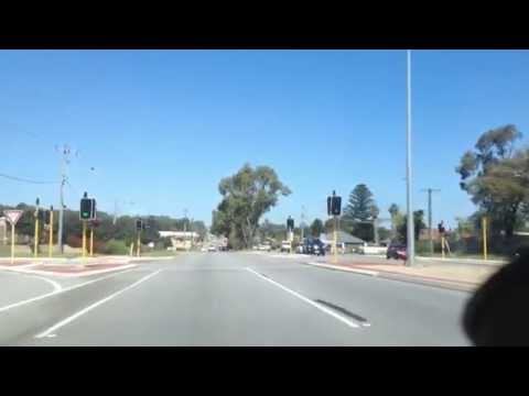 Wanneroo Road Western Australia 30.09.2014 Dog pound to shops south