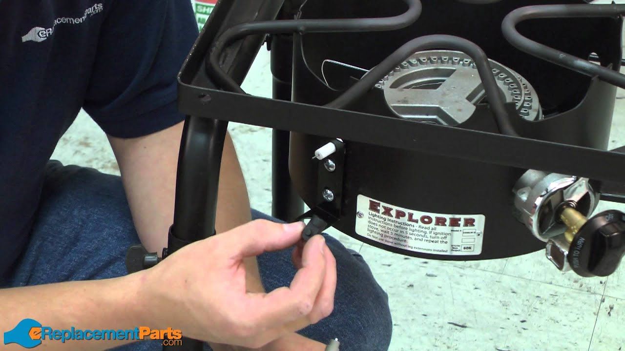 How To Install An Ignitor Kit On A Camp Chef Stove Youtube Craftsman Riding Mower Wiring Diagram