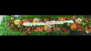 Boodle Fight Pinoy Style | HBD Ma And Vin Dec 6 2014