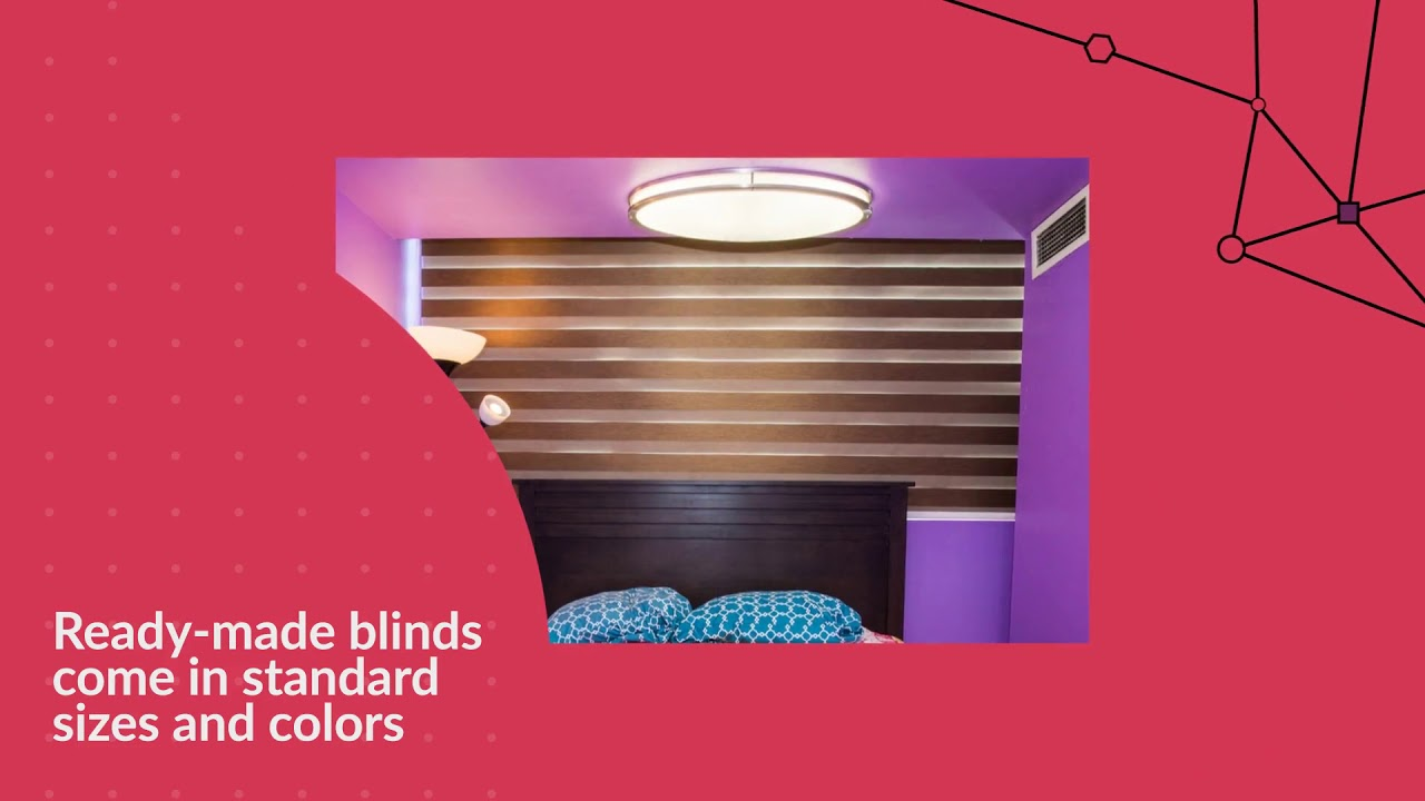 Should You Go For Ready Made Or Customized Office Blinds   Canadian Blinds Pros