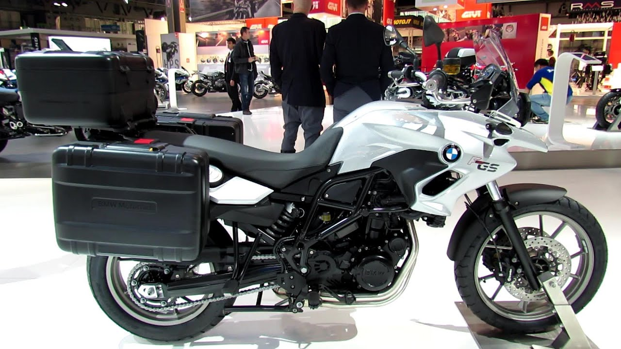 2014 bmw f700gs accessoires walkaround 2013 eicma milano motorcycle exhibition youtube. Black Bedroom Furniture Sets. Home Design Ideas